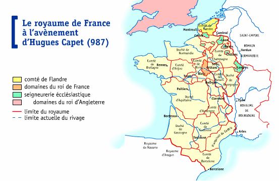 flandre en 987