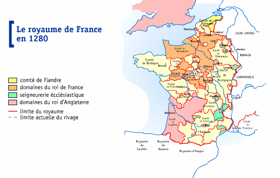 flandre en 1280